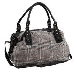 China Galpão de saco de viagem Duffle Bag de couro de patch do fabricante