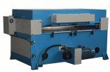 Máquina cortando da esponja hidráulica/sapata de couro