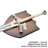 Jogo da espada do gelo das espadas dos tronos com chapa 114cm Jot5907c