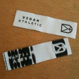 Corte a Laser decorativos alimentação Final Dobre a etiqueta de tecido