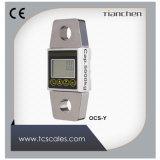 Digital de la capacidad 1 a 50 de la tonelada dinamómetro portable del LCD