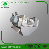 Máquina de la prensa de tornillo para el lodo industrial Effulent Tratment