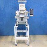 Pista automatizada uso casero de la máquina del bordado sola para los casquillos y la ropa 6/9 color