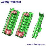 """De Sluiting van de Verbinding van het gel voor 1/2 """" Kabel en 7/16 Schakelaar van DIN aan Antenne & Rru"""