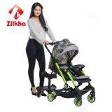 Bebê verde do ânodo Car- com frame e 3 em 1