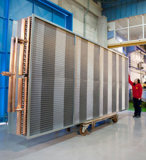 Bobine del gigante per i sistemi di condizionamento d'aria enormi (utilizzati nelle porte di aria, in uffici, in ospedali, in cinematografi, in hotel ecc)