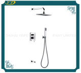 La moda Intergrate Conjunto de ducha de mano de una sola palanca Conleaded Cascada Mezclador de ducha
