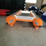 Catamaran gonflable de bateau à grande vitesse pliable de Liya à vendre