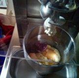 Gel en acier inoxydable Swirl commercial de la crème glacée pour la vente de la machine