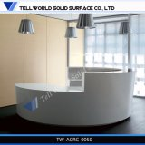 현대 디자인 아크릴 조명된 접수처 온천장 접수처