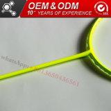 De vierkante HoofdGoederen van de Sport van de Vorm van ISO Geplaatst de Professionele Racket van het Badminton