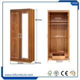 競争的に価格のホーム寝室MDFの折るワードローブの戸棚