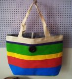 Moderne Vrouwen Dame Printing Canvas Shopping Handbag