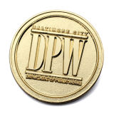 OEM et ODM promotionnel personnalisé Pièce de métal or Sovenir en vrac