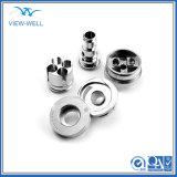 personalizado em alumínio de precisão as peças de máquinas sobressalentes