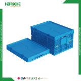 Gavetas empilháveis dobrável de plástico Contentores Tote Caixa dobrável
