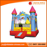 Saltar Bouncer Moonwalk inflable Castillo de Princesa congelados (T2-102A)