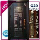 Segurança do melhor preço de aço exteriores da porta de ferro (EF-S073ZM)
