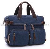 Serviette de portefeuille de sac d'emballage d'ordinateur portatif de sac à dos de toile de mode d'OEM
