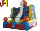Ammortizzatore ausiliario gonfiabile di obiettivo fatto funzionare con il gioco di sport del cerchio di pallacanestro
