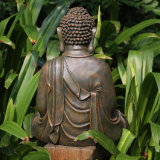 販売のための庭の装飾のPolyresin 2017の一義的な普及した仏の彫像