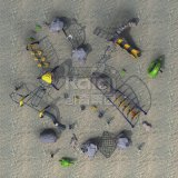 Kaiqi子供の遊園地(KQ60131A)のための上昇シリーズ屋外の運動場