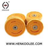 Chuveiro de madeira polida círculos Rodas