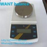 高精度のデジタルスケールの分析的な重量を量るバランスとの3000g 0.01gの大きい容量