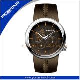 Montre-bracelet imperméable à l'eau de quartz de montre de mode des hommes Psd-2352