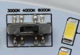 30W 실내 높은 효험 Tc 둥근 LED 천장 또는 굴은 살기로 또는 아래로 점화한다