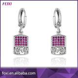 Zirconia cúbica de latón de 18K de diamantes joyas de oro establece
