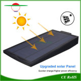 Jardim das luzes alimentadas por energia solar Natal acende a luz de LED de exterior recarregável
