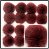 Les nouveaux produits de la fourrure acrylique Pompom Commerce de gros de fausse fourrure de raton laveur