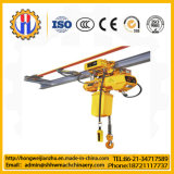 Macchinario di sollevamento gru elettrica della corda del filo di acciaio di 10 T