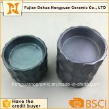 De grote Houder van de Kaars van Emblema van het Ontwerp van de Grootte Cilindrische Ceramische