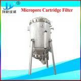 Huisvesting van de Filter van de Patroon van het Roestvrij staal van de drank de Enige Microporous