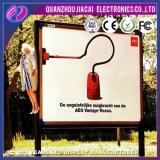 Veicolo di pubblicità mobile elettrico, tabellone per le affissioni esterno del LED