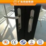 Porta a battenti di alluminio insonorizzata con la rete di zanzara dell'acciaio inossidabile