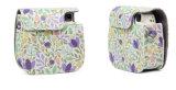 Fujifilm Instax Mini 8 8+ 9 Аксессуары для фотокамеры цветы провод фиолетового цвета кожи мгновенного камеры сумки через плечо крышки защиты топливораспределительной рампы случае чехол