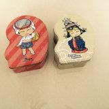 불규칙한 형태 축제 선물 양철 깡통 상자