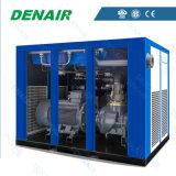 compresseur d'air stationnaire lubrifié par 150kw de vis (air/refroidis à l'eau)