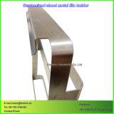 Titular de la revista personalizada por parte de la hoja de mecanizado CNC Fabricación de metal