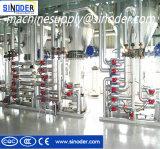 Mini equipo de la refinería de petróleo de girasol de la planta de refinería del petróleo crudo