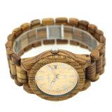 Экологичный высокое качество характера лучшие деревянные часы для мужчин