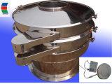 Grau alimentício em aço inoxidável completa da máquina da peneira vibratória ultra-sónico