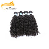 Pelo caliente del indio de la importación de la alta calidad de los estilos del pelo de Alimina