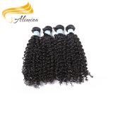 Aliminaの毛熱い様式の高品質のインポートのインド人の毛