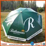 Cutom Firmenzeichen-einbrennender Förderung-Sonnenschutz-Sonnenschirm-Regenschirm