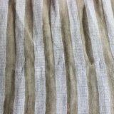 리넨 Hometextile를 위한 면 줄무늬 털실에 의하여 염색되는 직물