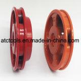 El recortador de aluminio rojo pesado Cabeza con 4 líneas de Nyon cepillo para el cortacésped de corte